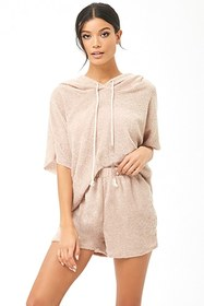 Forever21 Marled French Terry Knit Shorts