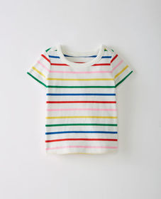 Hanna Andersson Bright Baby Basics Tee In Organic