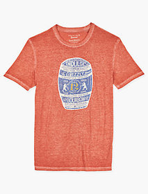 Lucky Brand Ol Grizzly Tee