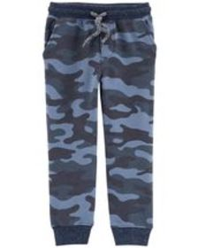 carters Toddler Boy Camo Pull-On French Terry Jogg