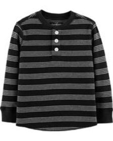 Osh Kosh Toddler BoyStriped Henley Thermal