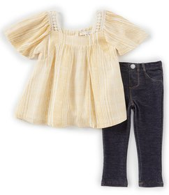Jessica Simpson Baby Girls 12-24 Months Striped To