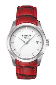 Tissot Couturier Leather Strap Watch