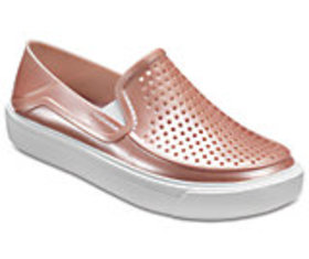 Kids' CitiLane Roka Metallic Slip-On