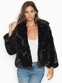Victoria Secret Faux-fur Coat