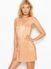 Victoria Secret Shine Pleat Slip