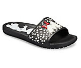 Women's Crocs Sloane Minnie Dots Slide