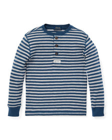 Ralph Lauren Childrenswear Long-Sleeve Striped Hen