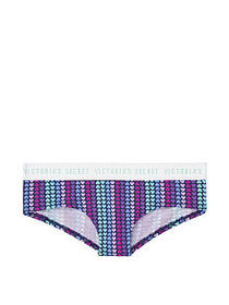 Victoria Secret Stretch Cotton Logo Cheeky Panty