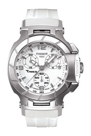 Tissot T-Race Chronograph Silicone Strap Watch