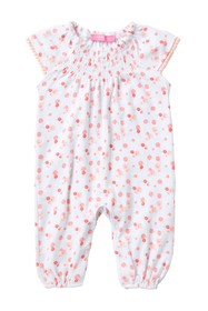 Isaac Mizrahi Floral Coverall (Baby Girls)