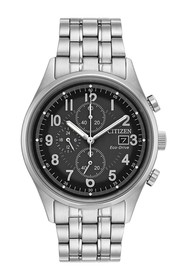 Citizen Men's Chandler Black Dial Chronograph Watc