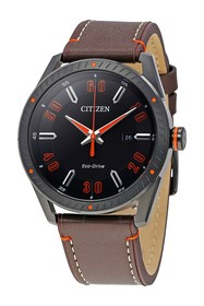 Citizen Men's Drive from Eco-Drive Brown Leather S
