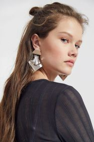 Deco Statement Post Earring