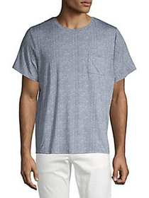 1670 Short Sleeve Printed T-Shirt GREY STONE