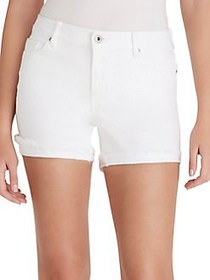 Jessica Simpson Forever Denim Shorts WHITE