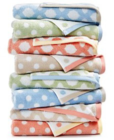 Martha Stewart Cotton Spa Fashion Bath Towel Colle