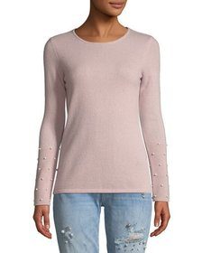 Neiman Marcus Cashmere Collection Cashmere Pearly-
