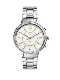 Fossil Q Virginia Stainless Steel Bracelet Hybrid