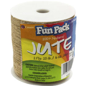 Cousin 2 Ply Natural Jute