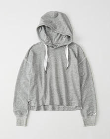 The A&F Comfy Hoodie, HEATHER GREY