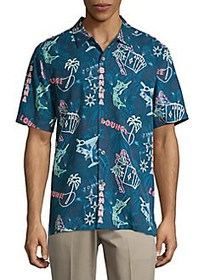 Tommy Bahama Standard-Fit This Is How I Roll Silk