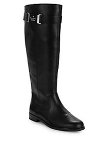 Kate Spade New York Ronnie Leather Riding Boots BL