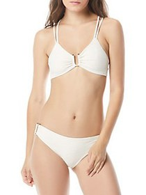 Vince Camuto Pacific Wave Strappy Bikini Top SAND