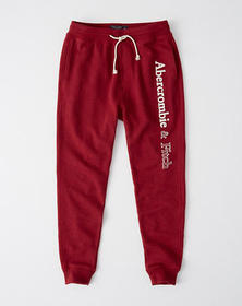 Logo Joggers, RED