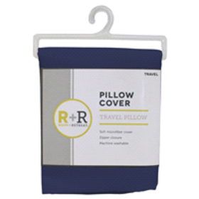 Room + Retreat Travel Pillow Protector, Cobalt 14