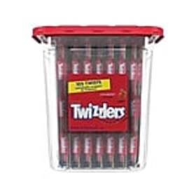 Twizzlers Twists Licorice, Strawberry, 33.3 Oz., 1