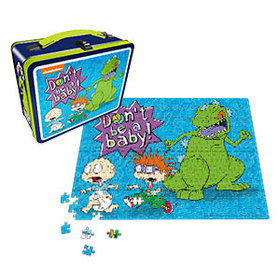 Rugrats Lunch Box with 500pc Puzzle - Exclusive