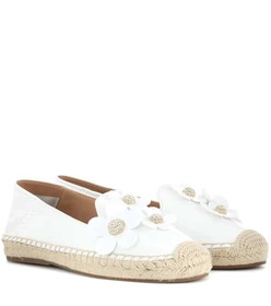 Marc Jacobs Daisy leather espadrilles