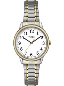 Timex Women's Easy Reader Watch, Two-Tone Stainles
