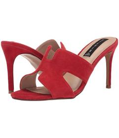 Steven Red Suede
