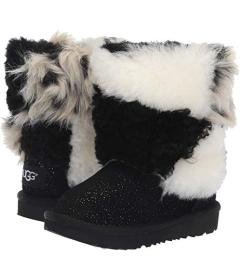 UGG Classic Short Patchwork Fluff (Toddler/Little