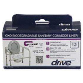 DriveMedical Commode Liners, 12 ct