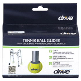Drive Medical Walker Rear Tennis Ball Glides with