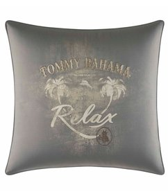 Tommy Bahama Raffia Palms Relax Square Pillow