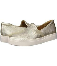 Naturalizer Light Gold Sparkle Leather