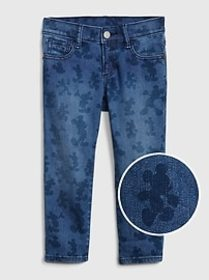 babyGap &#124 Disney Mickey Mouse Slim Jeans with