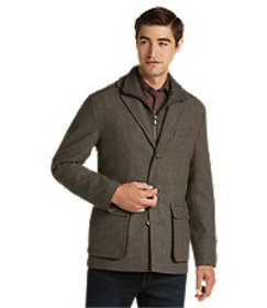 Jos Bank Reserve Collection Tailored Fit Car Coat