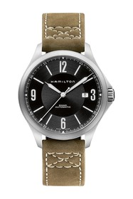 Hamilton Men's Khaki Aviation Leather Watch