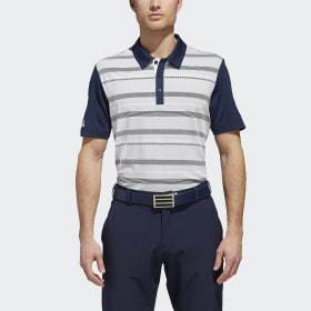 Adidas Ultimate365 Stripe Polo Shirt