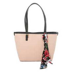 Bueno Tote with Print Scarf