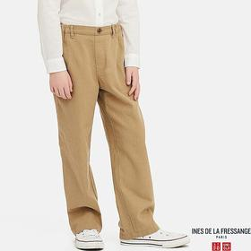 KIDS LINEN COTTON WIDE PANTS (INES DE LA FRESSANGE