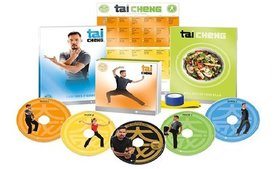 Tai Cheng Fitness 5 Dvd Workout Complete Base Kit