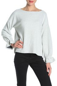 French Connection Eso Ellen Flared Long Sleeve Shi
