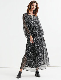 Lucky Brand Floral Printed Maxi