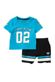 True Religion Sporty Patch 2-piece Set (Baby Boys)